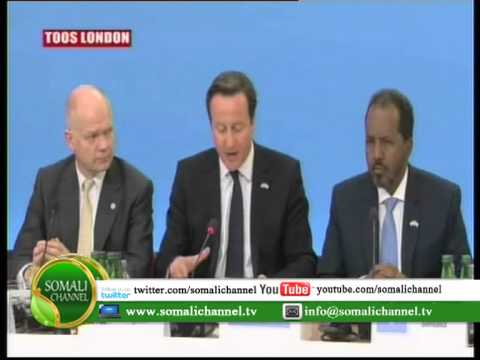 KHUDBADII RA'IISAL WASAARAHA INGIRIISKA DAVID CAMERON EE SHIRKA LONDON