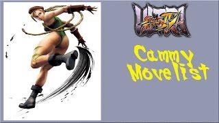 getlinkyoutube.com-Ultra Street Fighter IV - Cammy Move List