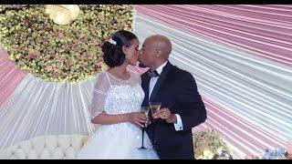 getlinkyoutube.com-Seifu and Veronica Wedding Ceremony - Watch The Kiss