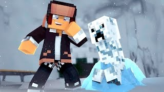 getlinkyoutube.com-Minecraft : CREEPER DE GELO !! - 24 DESAFIOS DE NATAL