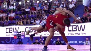 getlinkyoutube.com-Greco-Roman Wrestlers Go Big at Junior World Championships in Brazil