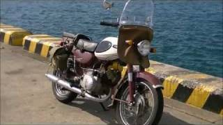 getlinkyoutube.com-YAMAHA  YA6 (125cc) YB125 YB90 CD125 K125 旧車 ビジバイ