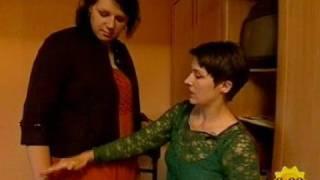 getlinkyoutube.com-germanys tallest women  caroline welz 206cm get dressed