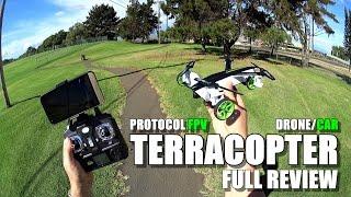 getlinkyoutube.com-PROTOCOL TerraCopter EVO Car/Drone - Full Review - [Unbox, Inspection, Setup, Flight/Drive Test]