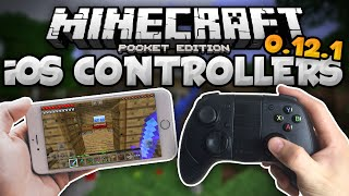 How To Play MCPE w/ a Wireless Controller for iOS - iPad & iPhone- Minecraft PE (Pocket Edition)