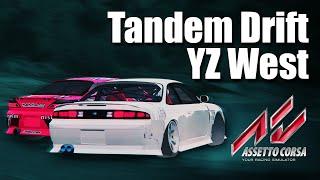 getlinkyoutube.com-Assetto Corsa Online Tandem Drift - YZ West Highlights