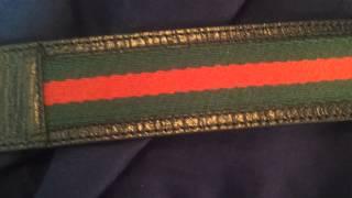 getlinkyoutube.com-100% Authentic Gucci Belt Unboxing