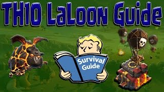 getlinkyoutube.com-TH10 3 STAR LaLoon Guide | BEST War Attack Strategy & Farming | Clash of Clans