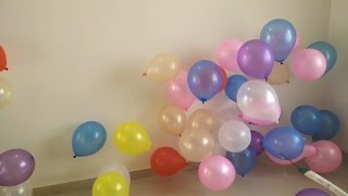getlinkyoutube.com-Balloon Pop Show - Crazy Way To Pop Balloon For Kids
