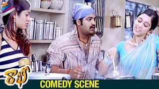 Ileana Fun with NTR | Rakhee Telugu Movie Comedy Scenes | Charmi | DSP | Telugu Filmnagar