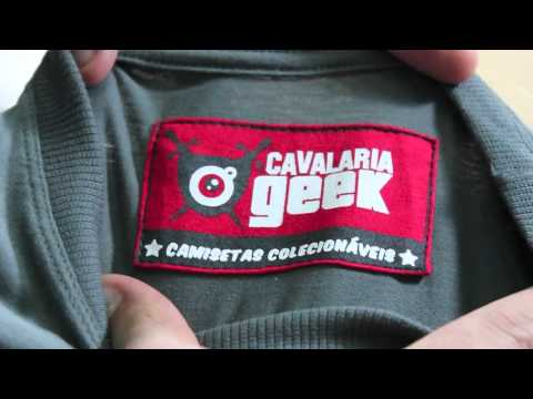 TV Geek - Review camiseta #CavalariaGeek