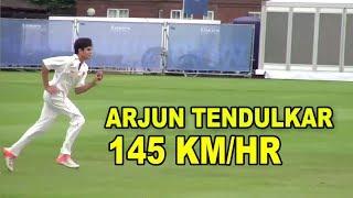 getlinkyoutube.com-Arjun Tendulkar bowls at Lord's 2015 Vs practice in Mumbai 2013