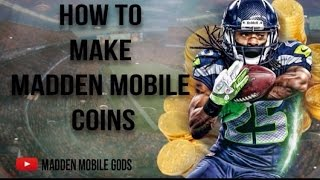 getlinkyoutube.com-HOW TO MAKE COINS IN MADDEN MOBILE:- Beginner's Guide to SNIPING:-
