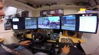 "getlinkyoutube.com-Farming Simulator 3x 27"" LED. Testing my new edition of Ponsse Scorpion SO v1."