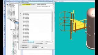 getlinkyoutube.com-AVEVA PDMS  Customisation Service platforms creating for equipments 1