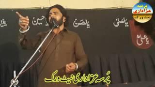 Zakir Sadiq Sherazi 28 Rajab 2017 Yadgar Majlis Karbala Mualla Pind Rahim Shah Sargodha Pakistan