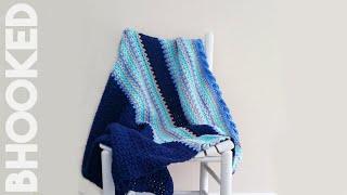 getlinkyoutube.com-How To Crochet Baby Waves Afghan