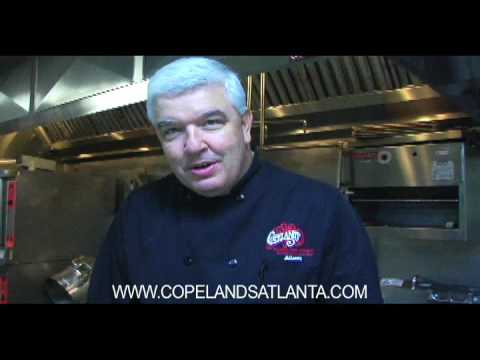 Watch how we deep fry a Cajun Turkey at Copeland's New Orleans Restaurant