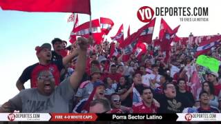 Sector Latino Chicago Fire 4-0 Vancouver White Caps