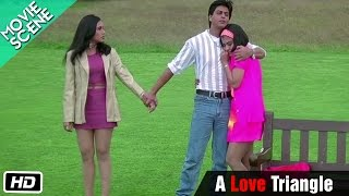 getlinkyoutube.com-A Love Triangle - Movie Scene - Kuch Kuch Hota Hai - Shahrukh Khan, Kajol, Rani Mukerji