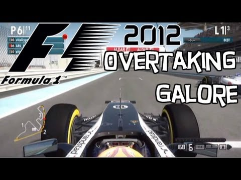 F1 2012 | Sprint Mode: Abu Dhabi - Overtaking Galore