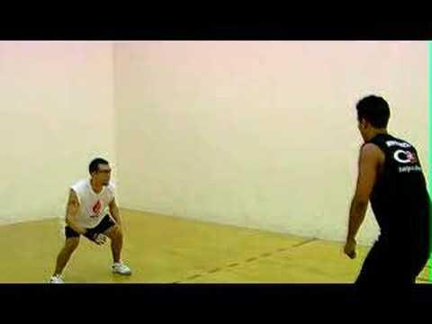 Racquetball Warehouse | Cross Step Drill