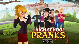 getlinkyoutube.com-High School Pranks v1.1 Android Official Trailer