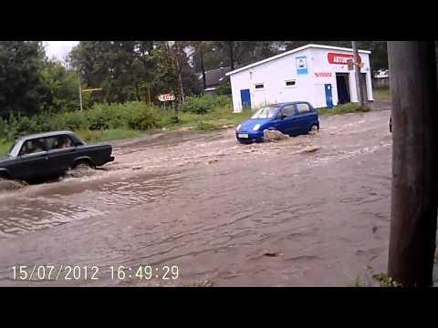 Калуга потоп Азарово-Силикатный