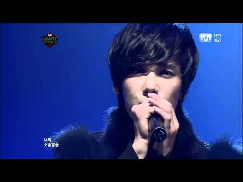 110210 Jung Min Mnet M! CountDown Goodbye Stage - Do You Know