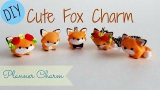 getlinkyoutube.com-DIY Cute Fox Charm- Planner Charm