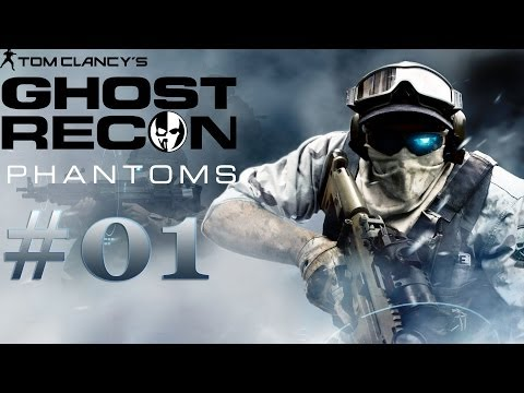 Ghost Recon Phantoms: Iniciante barra pesada ! Gameplay [Comentado]