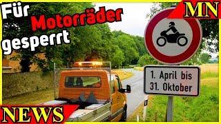 Sperrung der K83   Neue ZX-6R   Neue RSV4   Schwerer Unfall Southern 100   Motorrad Nachrichten 2018