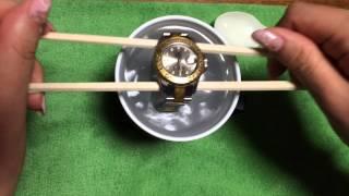 getlinkyoutube.com-【衝撃の瞬間】腕時計ってこんなに汚れているの!?