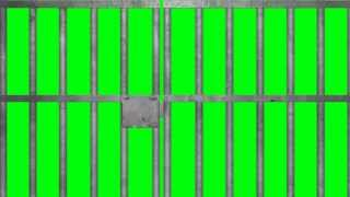 getlinkyoutube.com-Prison Jail Bars Cell - Green Screen
