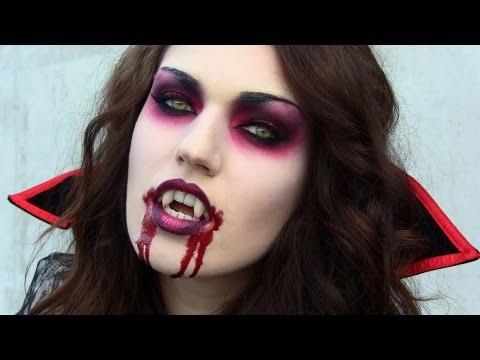 VAMPIRE Makeup Hair Costume (Halloween Transformation)