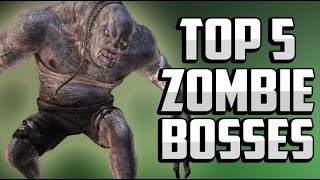 getlinkyoutube.com-Top 5 WORST Zombie Bosses! Call of Duty Black Ops 2 Zombies, Black Ops, World at War Gameplay