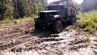 getlinkyoutube.com-KrAZ - Russian OFF Road MONSTER truck