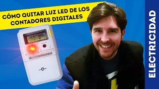 getlinkyoutube.com-CÓMO APAGAR LED ROJO DEL CONTADOR DE LA LUZ