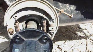 getlinkyoutube.com-ЗУБР Q79E Как я собирал Тормозной барабан от Мото ИЖ на ЗУБР Q79E.
