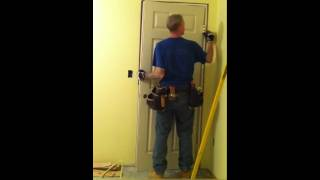 getlinkyoutube.com-Learn how to install a door in less then 15 mins