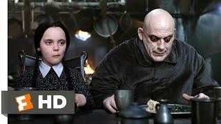 getlinkyoutube.com-The Addams Family (3/10) Movie CLIP - Dinner Conversation (1991) HD