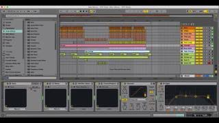 Ableton Live Template - EDX Style by Alex Menco (Deep House, Tech House) / Midi Production