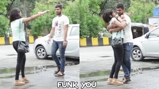getlinkyoutube.com-Girl giving a Hug Prank by Funk You