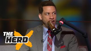 Chris Broussard on Lonzo Ball's draft stock, LeBron sitting out in L.A. | THE HERD