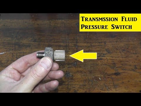 How To Replace A Transmission Fluid Pressure Switch P0847