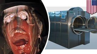 getlinkyoutube.com-火葬は古い? 遺体を溶解する機械が登場