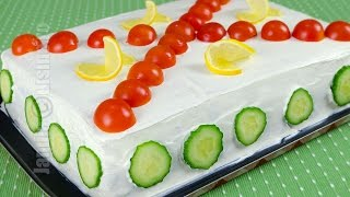 getlinkyoutube.com-Reteta Tort aperitiv - JamilaCuisine