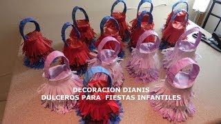 getlinkyoutube.com-DULCEROS PARA FIESTAS INFANTILES DIANIS