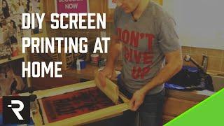getlinkyoutube.com-How to Screen Print: DIY Screen Printing at Home | FULL LENGTH DVD
