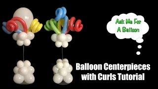 getlinkyoutube.com-Balloon Centerpieces With Curls Tutorial